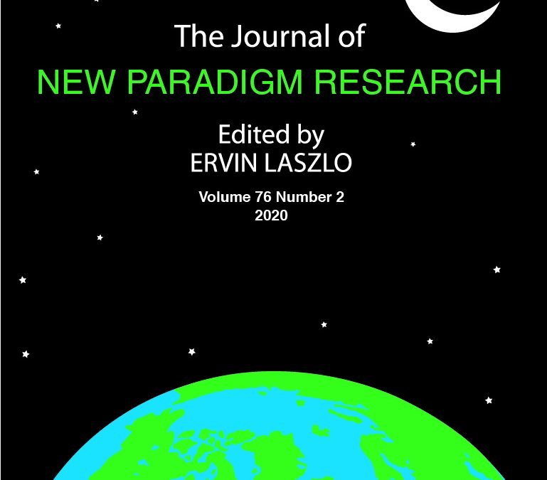 World Futures: The Journal of New Paradigm Research – 1962- 2020