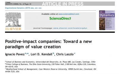 Positive-impact companies: Toward a new paradigm of value creation – Science Direct