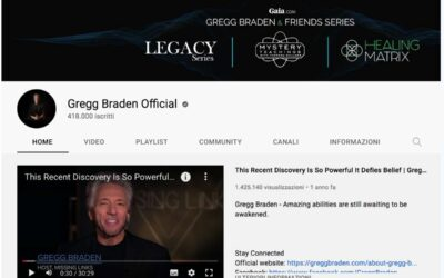 Dr. Ervin Laszlo is featured on Gregg Braden's official Youtube channel